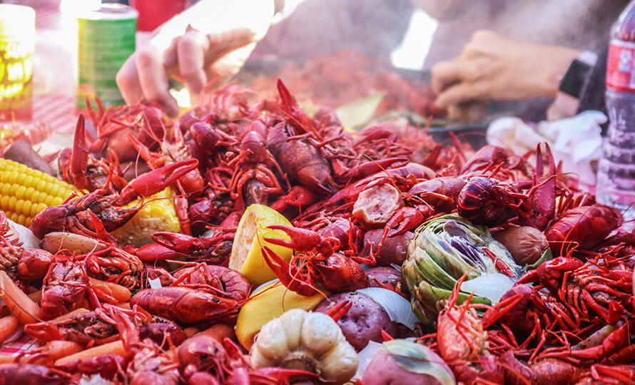 Nearby crawfish restaurants